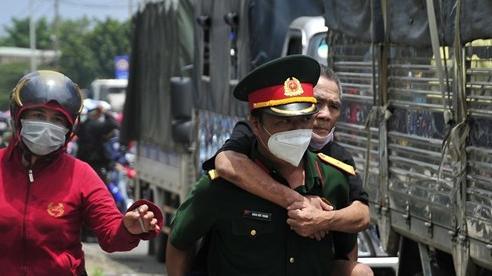 Bộ Tư lệnh TP Hồ Chí Minh gửi tâm thư cho đồng bào muốn về quê
