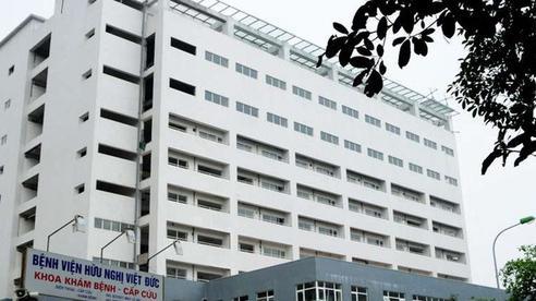 Phát hiện 6 người tại 1 tầng trong Bệnh viện Việt Đức mắc Covid-19