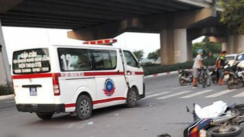 Va chạm với ô tô giữa ngã ba, người đi xe máy tử vong tại chỗ