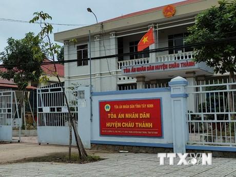 Tây Ninh: Khởi tố nguyên Chánh án, Phó Chánh án TAND huyện Châu Thành