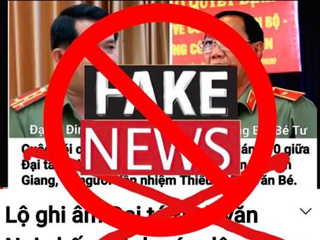 [Fact-check] Sự thật về file ghi âm của Giám đốc Công an tỉnh An Giang