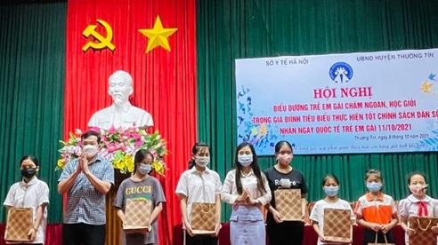 Hà Nội: Biểu dương 100 gia đình tại huyện Thường Tín thực hiện tốt chính sách dân số
