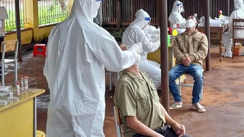 Đắk Lắk: 39 trường hợp nhiễm SARS-CoV-2 tại ổ dịch khu chợ