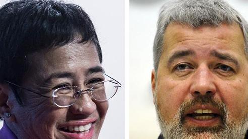 Hai nhà báo của Philippines và Nga giành giải Nobel Hòa bình 2021