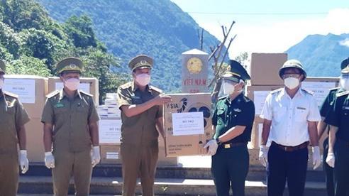 Quảng Bình hỗ trợ tỉnh Khammouane (Lào) phòng chống dịch COVID-19