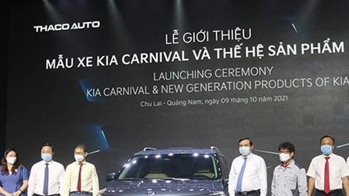 Giới thiệu mẫu xe Kia Carnival và sản phẩm KIA mới