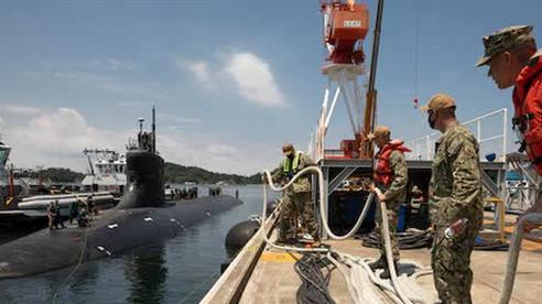 Trung Quốc muốn Mỹ nói mục đích chuyến đi của USS Connecticut