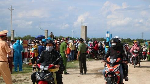 UBND tỉnh Ninh Thuận thông tin việc xử phạt người dân tự ý về quê