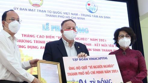 TP HCM: Hơn 14,5 tỉ đồng ủng hộ công tác an sinh, chăm lo trẻ mồ côi do Covid-19