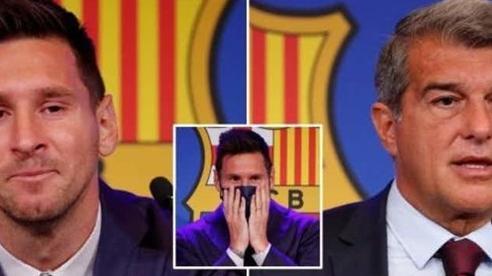 Chủ tịch Barca thừa nhận khó tin với Messi