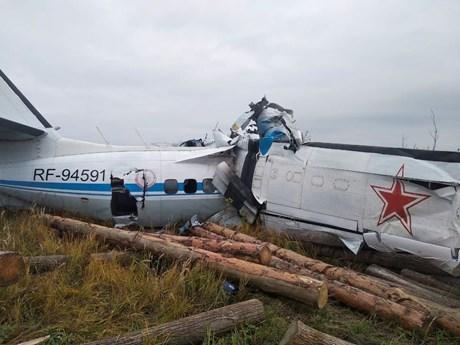 Tổng cộng có 16 người thiệt mạng trong vụ rơi máy bay tại Nga