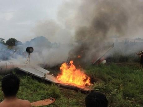 Máy bay của không quân Bolivia gặp nạn, 6 người tử vong