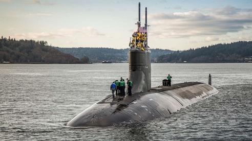 Sina: USS Connecticut va chạm với chính UUV của Hải quân Mỹ