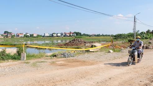 Huyện Mê Linh: Không loại trừ khả năng cưỡng chế giải phóng mặt bằng dự án đấu giá đất ở xã Liên Mạc