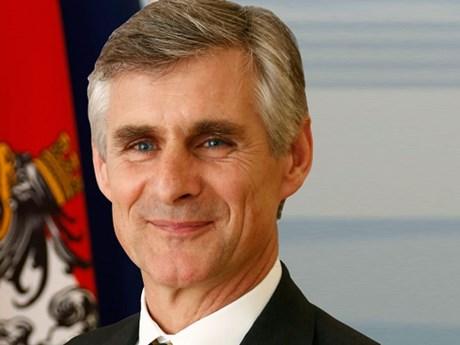 Đại sứ Áo tại Pháp Michael Linhart sẽ trở thành Ngoại trưởng