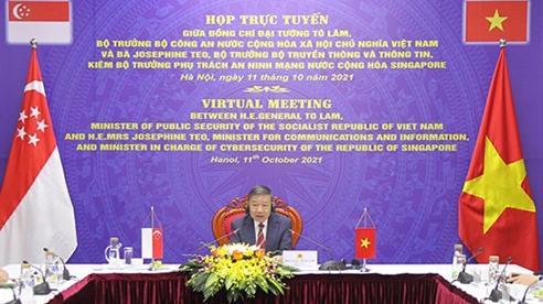 Thúc đẩy mạnh mẽ hợp tác an ninh mạng Việt Nam-Singapore