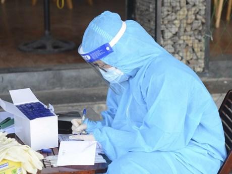 Cao Bằng thực hiện test nhanh COVID-19 tại chốt kiểm soát dịch