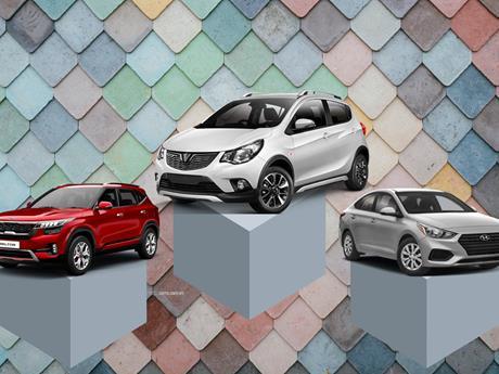 Top 10 mẫu xe ôtô bán chạy nhất thị trường Việt trong tháng Chín