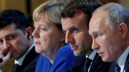Tổng thống Putin bàn về thỏa thuận Minsk với các nhà lãnh đạo Pháp và Đức