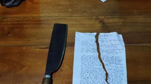 Thanh niên vi phạm quy định phòng, chống dịch xé biên bản, dọa chém Công an