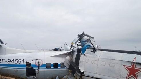 Máy bay Nga gặp nạn hơn 20 người thương vong