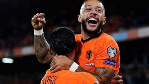 Depay lập kỷ lục với Hà Lan, Đức giành vé sớm nhất dự World Cup 2022