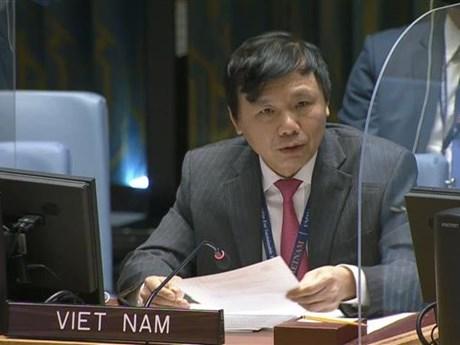 Việt Nam cam kết cùng các nước thúc đẩy hòa bình, an ninh quốc tế