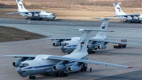 Máy bay Nga bắt đầu chuyển giao vũ khí mới cho Syria