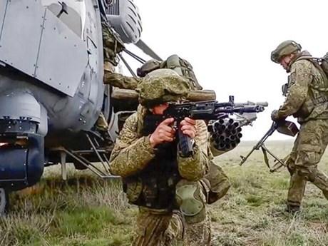 CSTO thông báo kế hoạch tập trận gần biên giới Afghanistan