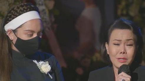 Hình ảnh xúc động trong tang lễ cố ca sĩ Phi Nhung ở Mỹ