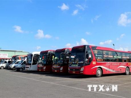 Bình Định mở lại 5 tuyến vận tải hành khách liên tỉnh