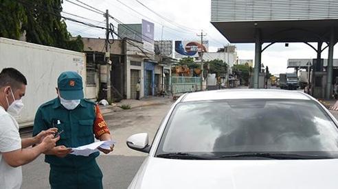 Người lao động được đi ô-tô cá nhân từ TP Hồ Chí Minh về Đồng Nai