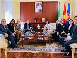 'Italy mong muốn thúc đẩy quan hệ hơn nữa với Việt Nam'