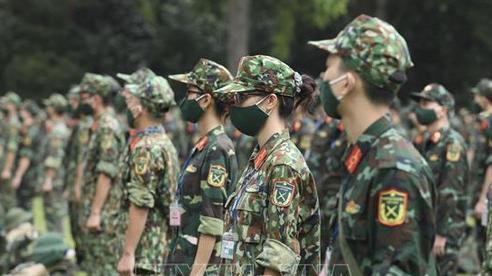 Hơn 300 cán bộ, học viên Học viện Quân y hoàn thành nhiệm vụ phòng, chống dịch