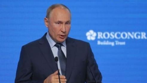 Tổng thống Putin: Nga không sử dụng khí đốt làm vũ khí địa chính trị