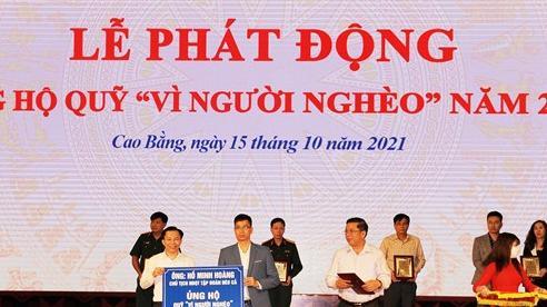 Cao Bằng huy động gần 13 tỷ đồng cho Quỹ 'Vì người nghèo'