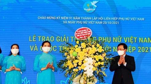 Vinh danh 16 tập thể, cá nhân nhận Giải thưởng Phụ nữ Việt Nam năm 2021
