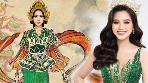 Lộ thiết kế 'Dances of the World' của Đỗ Hà: Gây tò mò với hình ảnh nữ tướng Bà Triệu.