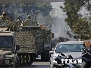 Liban: Bắt giữ 9 người liên quan đến vụ nổ súng tại thủ đô Beirut