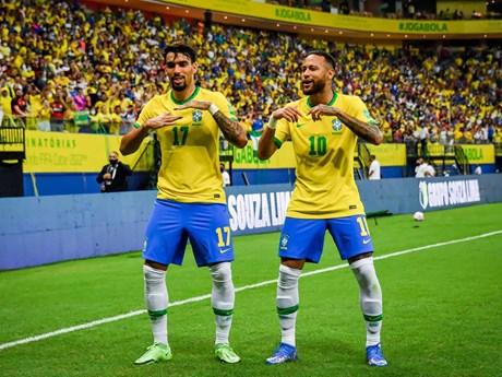 Thắng đậm Uruguay, Brazil chỉ còn cách vé đến Qatar 1 trận thắng