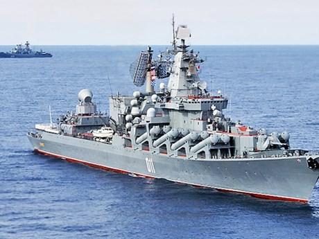 Tàu chiến của Nga và Trung Quốc cùng tập trận trên biển Nhật Bản