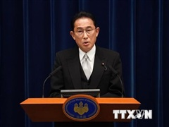 Tân Thủ tướng Nhật Bản lần đầu điện đàm với Tổng thống Hàn Quốc