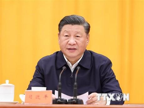 Chủ tịch Trung Quốc điện đàm với các lãnh đạo EU và Singapore