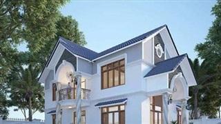 Mẫu nhà mái thái 2 tầng 3 phòng ngủ hiện đại cho gia đình đông người