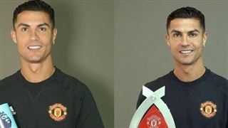 Vừa trở về Manchester United, Ronaldo nhận ngay cú đúp danh hiệu cá nhân