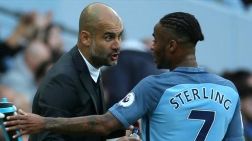 Pep Guardiola bài ngửa Sterling: Muốn rời Man City, cứ việc!