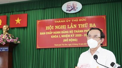 Bí thư Thành ủy TPHCM Nguyễn Văn Nên: Tính toán lại bộ mặt đô thị, xây nhà trọ đúng quy cách