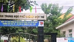 Phú Thọ:Học sinh 8 trường THPT tạm nghỉ học để phòng dịch Covid-19