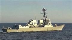 Mỹ khẳng định tàu khu trục Chafee hoạt động ở Biển Nhật Bản đúng luật pháp quốc tế