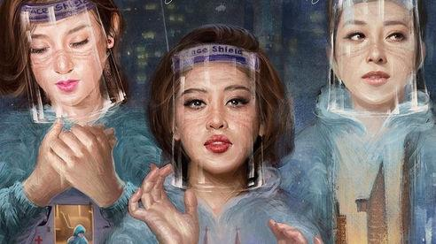 Á hậu Huyền My - Hoa hậu Jennifer Phạm đóng phim về cuộc chiến chống Covid-19